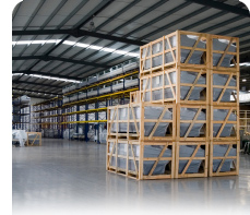 Photo of a warehouse