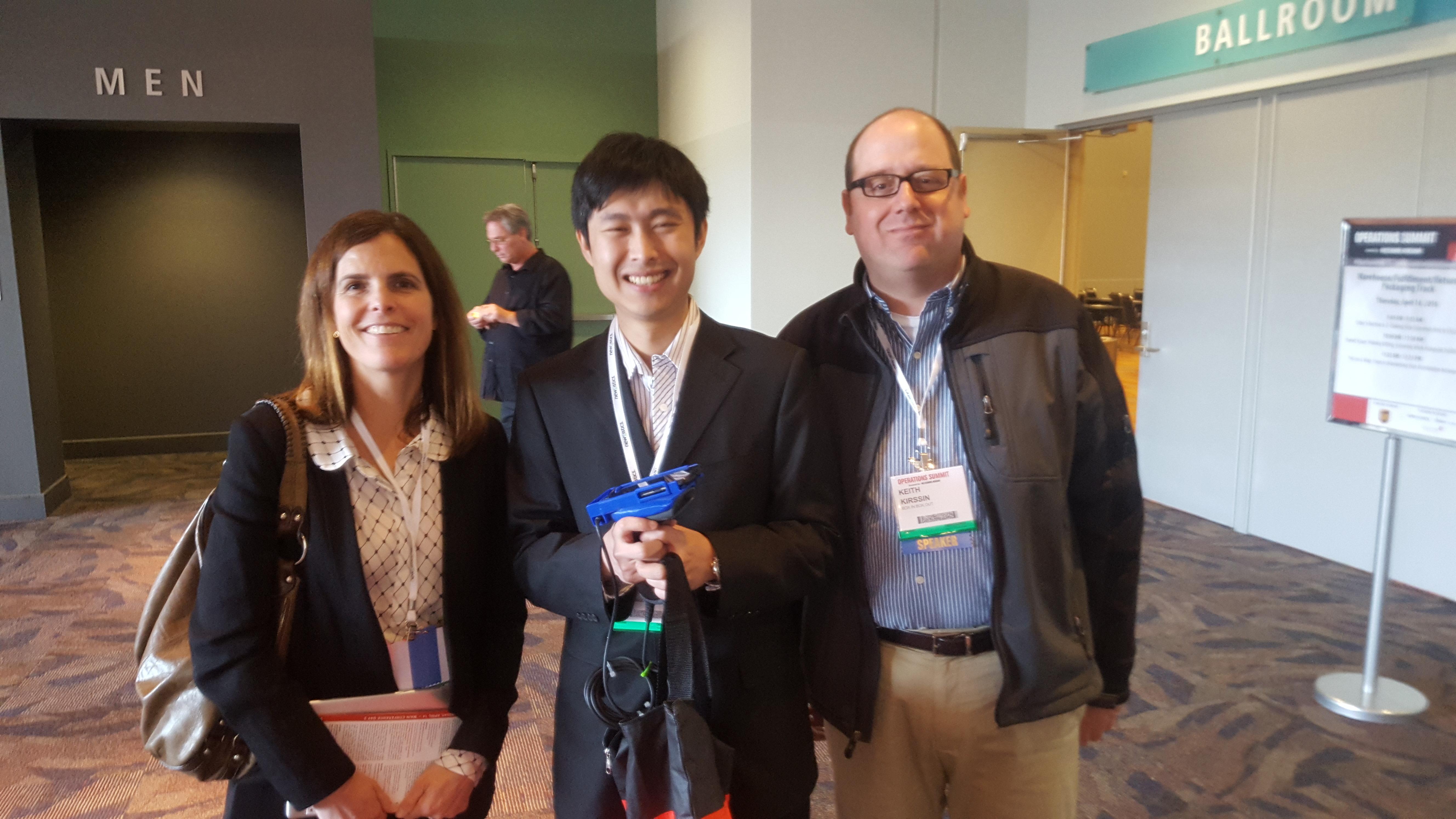 Panelists Ashley Kohnen, Shao Li, Keith Kirsson